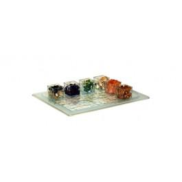 Glazz Half Length Gastronorm Platter 32.5 x 25.5 x 1.5cm
