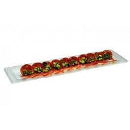 Glazz Half Width Gastronorm Platter 53 x 16.3 x 1.5cm