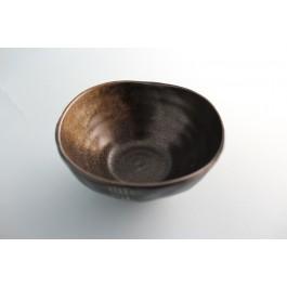 Oriental Range Bowl 11.5 x 3cm (DxH) Black/Brown