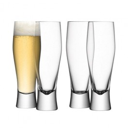 Bar Lager Glass (Pack Of 4) 40cm