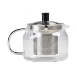 Glass Teapot With Infuser Glass 47cl