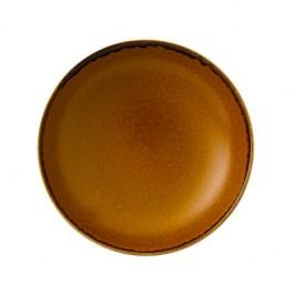 Dudson Harvest Brown Coupe Bowl 18.2cm 42.6cl