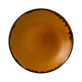 Dudson Harvest Brown Deep Coupe Plate 28.1cm