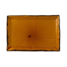 Dudson Harvest Brown Large Rectangular Tray 34.2 x 23.1cm