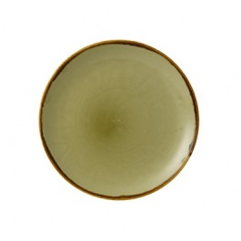 Dudson Harvest Green Coupe Plate 21.7cm