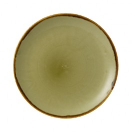 Dudson Harvest Green Coupe Plate 28.8cm