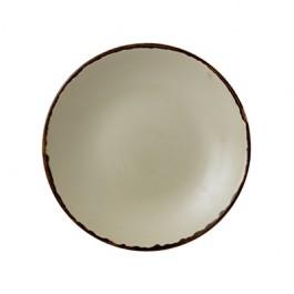 Dudson Harvest Linen Deep Coupe Plate 25.5cm
