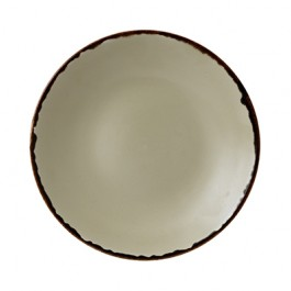 Dudson Harvest Linen Deep Coupe Plate 28.1cm