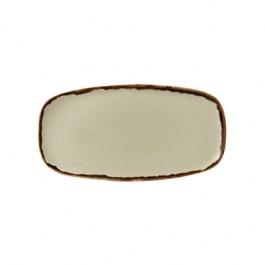 Dudson Harvest Linen Chefs Oblong Plate 29.8 x 15.3cm