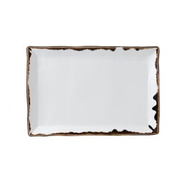 Dudson Harvest Natural Small Rectangular Tray 28.2 x 18.7cm