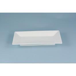 Oriental Range Rectangular Plate/Dish White 23 x 14cm