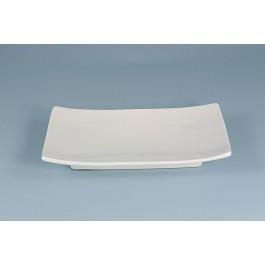 Oriental Range Oblong Plate White 20cm