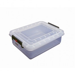 Araven Food Box Storage Container with Lid 53 x 40 x 16cm 20 Litres