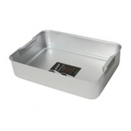 Professional Aluminium Bakeware Deep Roasting Dish 52 x 42 x 10cm