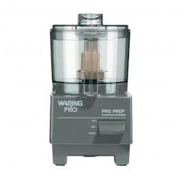 Waring Spice Grinder & ChopperPower Required: 230V Single Phase 0.7AmpSpeed: 3000RPMOutput: 30Litre Per Hour. Capacity: 750ml and 500mlBuilt In Pulse ButtonIncludes 1 Chop And Puree Bowl And Blade. 1 Grind Bowl And Dull BladeDimensions: 25.5 x 12.5