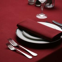 Tablecloth 132 x 132cm Maroon