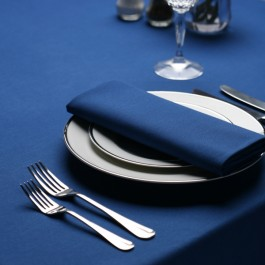 Tablecloth 132 x 132cm Royal Blue