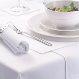 Tablecloth 275cm White