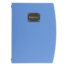 Rio Menu Blue Fits 4 x A4 Paper