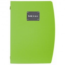 Rio Menu Green Fits 4 x A4 Paper