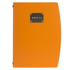 Rio Menu Orange Fits 4 x A4 Paper