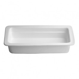 Porcelain Insert for Oblong Roll Top Chafer 1/1GN SizeFood Pan