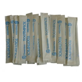 Toothpicks plastic Individually wrapped (Pack of 1000)
