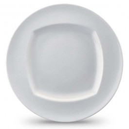 Event Plate Flat with Rim 23cm