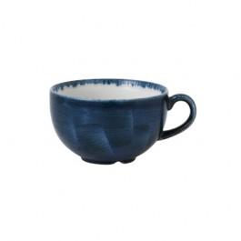 Churchill Stonecast Plume Ultramarine Cappuccino Cup 22.7cl
