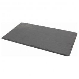 Slate Rectangular Platter Natural Edge 25 x 13cm