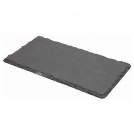 Slate Rectangular Platter Natural Edge 30 x 20cm