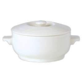 Steelite Simplicity White Covered Soup Bowl 42.5cl