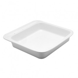 Porcelain Insert for Square Induction Chafer 38cmx38x7cm