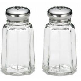Panelled Salt/Pepper Shaker Glass 3cl