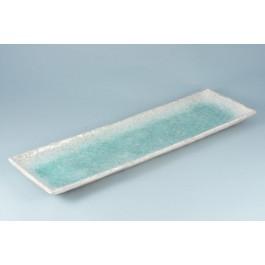 Oriental Range Seuin platter Oblong, blue 50 x 16cm