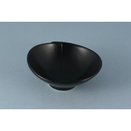 Oriental Range Oval Bowl Black 10.5 x 3.5cm