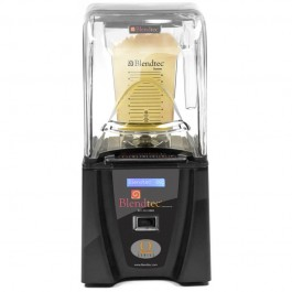 """Blendtec Smoother Q Commercial Blender V100The Blendtec Q-series makes your blender, """"the strong, silent type"""".Efficient sound reduction technology.Blendtec continues to deliver the same industry leading performance with a reduction of roughly half"""