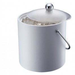 Ice Bucket White Insulated 3 Litres