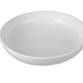 White Melamine Low Bowl 30 x 6.5cm