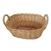 Bread Basket 30 x 20cm Wicker/Willow, Rectangular