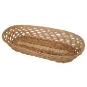 Bread Basket 37.5 x 15cm Wicker/Willow, Oblong