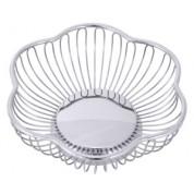 Bread/Fruit Basket 18x6cm 18/10 Stainless Steel