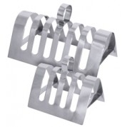 Toast Rack 4 Slot 14x8cm 18/10 Stainless Steel