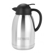Vacuum Jug 1.2 litres Stainless steel, Double walled, satin finish, inscribed 'Hot Water'