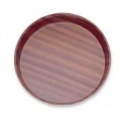 Deep Tray Round 33cm Laminated Wood