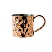 Copper Barware Dented Mug 8.7 x 14cm 48cl