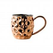 Copper Barware Dented Mug 9.5 x 14cm 48cl