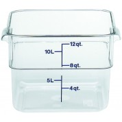 Cambro CamSquare Container 25.6 x 31 x 21cm Polycarbonate, 11.4 Litres