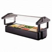 Cambro Table Top Food Bar Black 129.5 x 84.5 x 68.6cm