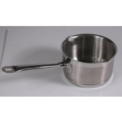 Milk pan 1 Litre Stainless steel, With Pouring Lip, 14cm